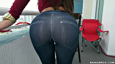 Tight jeans, Ass show, Ass solo