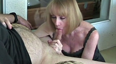 Wife, Sexy granny, Wife facial, Sloppy blowjob, Sexy wife