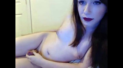 Shemale masturbating, Shemale solo, Amateur shemale