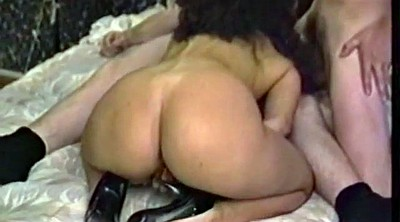 Retro, Big tits threesome, Vintage threesome