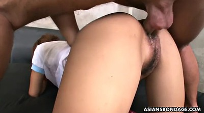 Riding creampie, Japanese hairy