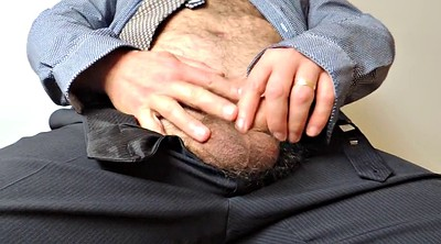 Mature handjob, Hairy mature