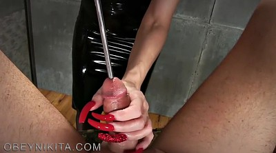 Sounding, Sound, Sounds, Mistress handjob