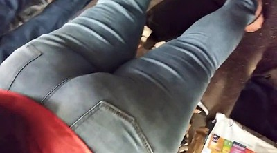 Jeans, Thick ass, Thick, Phat ass