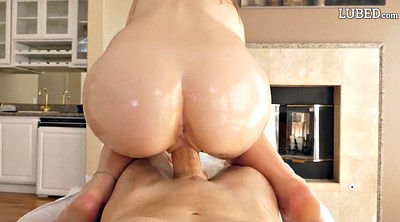 Oil, Reverse cowgirl, Oiled