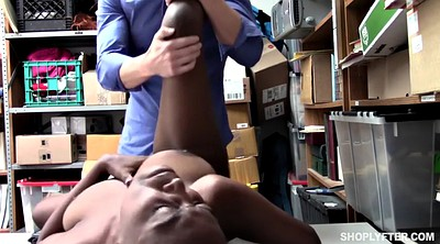 Shoplifter, Interracial missionary, Teen facial, Shoplift