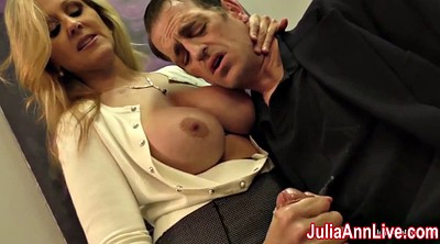 Julia ann, Mature handjob, Julia, Date