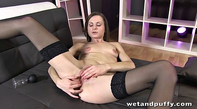 Stockings solo, Solo stocking, Solo orgasm, Black solo