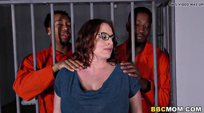 Mom, Jail, Mature bbc, Interracial mom