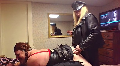 Mistress, Sally, Mistress strapon, Mistress cuckold, Leather mistress, Femdom sissy