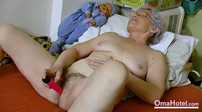 Mature masturbating, Hairy solo, Granny solo