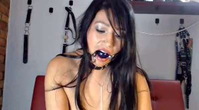 Torture, Webcam, Tortured, Self bondage