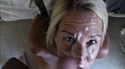 Facial compilation, Blond
