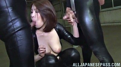 Double, Wild, Asian blowjob