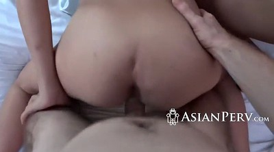 Boss, Their, Round tits, Asian hairy