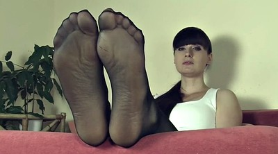 Pantyhose feet, Nylon feet, Mistress t, Pantyhose nylon, Pantyhose feet fetish, Mistress nylon feet