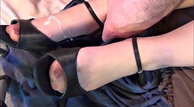 Nylon feet, Heels, Nylon foot, Stocking foot, Shoe