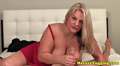 Matures, Mature handjob