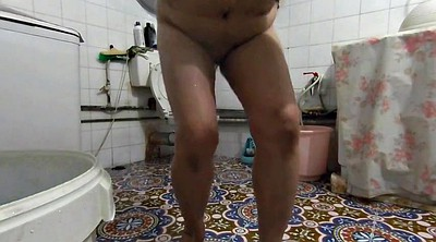 Hidden cam, Mature shower