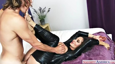 Latex, Leather, Ava addams, Addams, Cougar