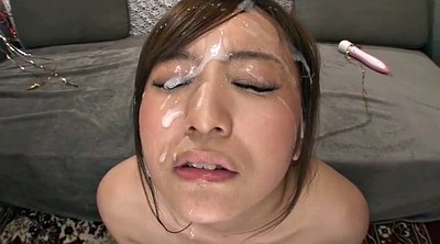Creamy, Japanese facial, Japanese cumshot, Asian bukkake