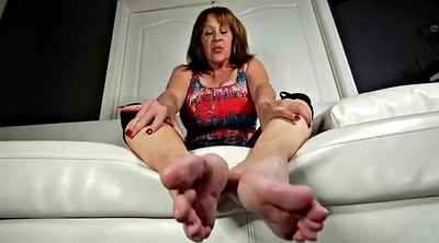 Mature feet, Sole, Big feet