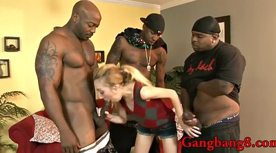 Interracial gangbang, Stuffing