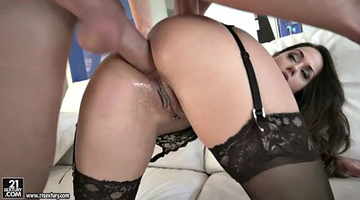 Heels, Stockings anal