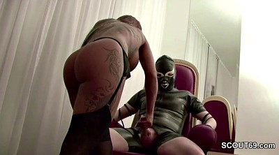Latex, German handjob
