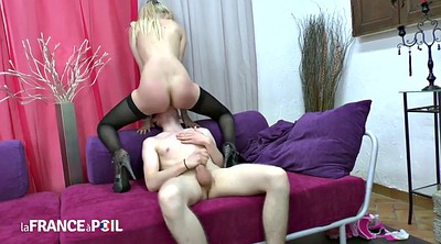 French anal, Blonde anal