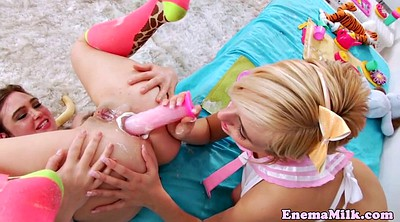 Enema, Cream, Filled