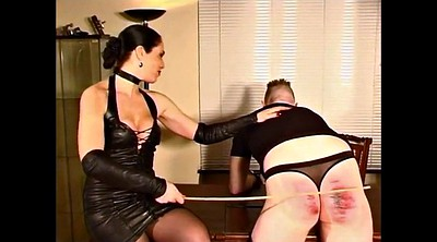 German, Caning, Latex, Caned