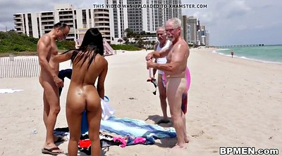 Grandpa, Beach sex, Beach granny, Sexy, Old grandpa