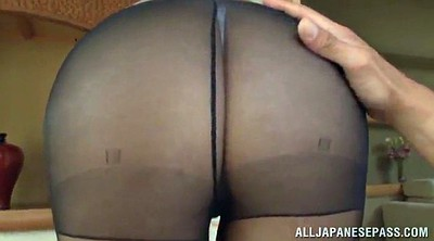 Aoi, Asian pantyhose, Asian hair, Pantyhose handjob, Pantyhose sex