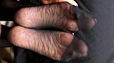 Pantyhose feet, Sole, Sperm, Foot sole