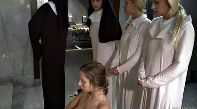 Uniform, Shitting, Nuns, Chastity, Anal bdsm, Chastity lynn