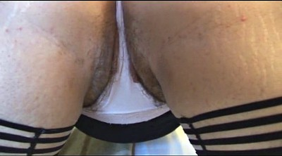 Show tits, Striptease, Mature hairy