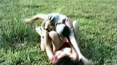 Mature outdoor, Catfight