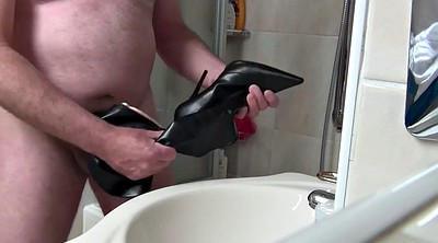 Boots, Heels, Cream, Black gay, Ebony orgasm, Chubby heels