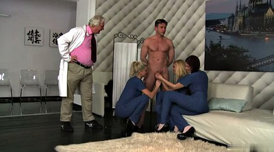 Nurse, Doctor, Group, Doctor anal