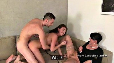 Female agent, Threesome casting