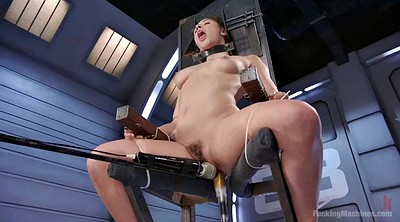 Tied machine, Tied up, Tied fuck, Hairy solo