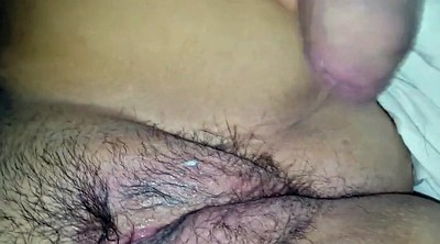Hairy, Big clit, Big wife