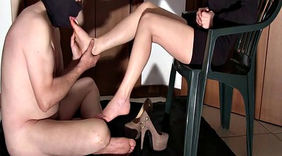 Shoe, Lick foot, Upskirts