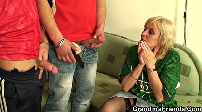 Mature, Mature stocking, Skinny granny