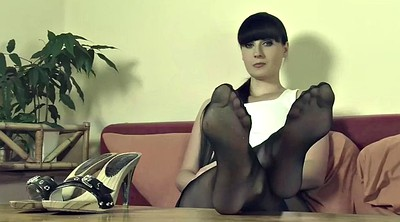 Nylon feet, Pantyhose feet, Nylon, Feet nylon