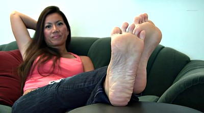 Michelle, Asian foot, Sole, Asian feet