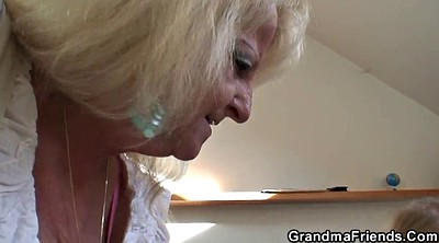 Granny group, Young mature, Granny threesome