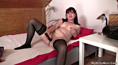 Milf mom, Stockings mature