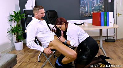 Office, Emma, Emma butt, Ball sucking, Sucking balls, Balls sucking